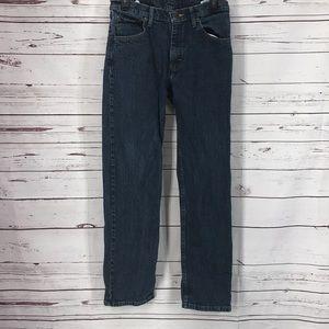 Wrangler Regular Fit Men's Denim Medium Wash Jeans